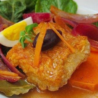 Receta de Escabeche de pescado peruano