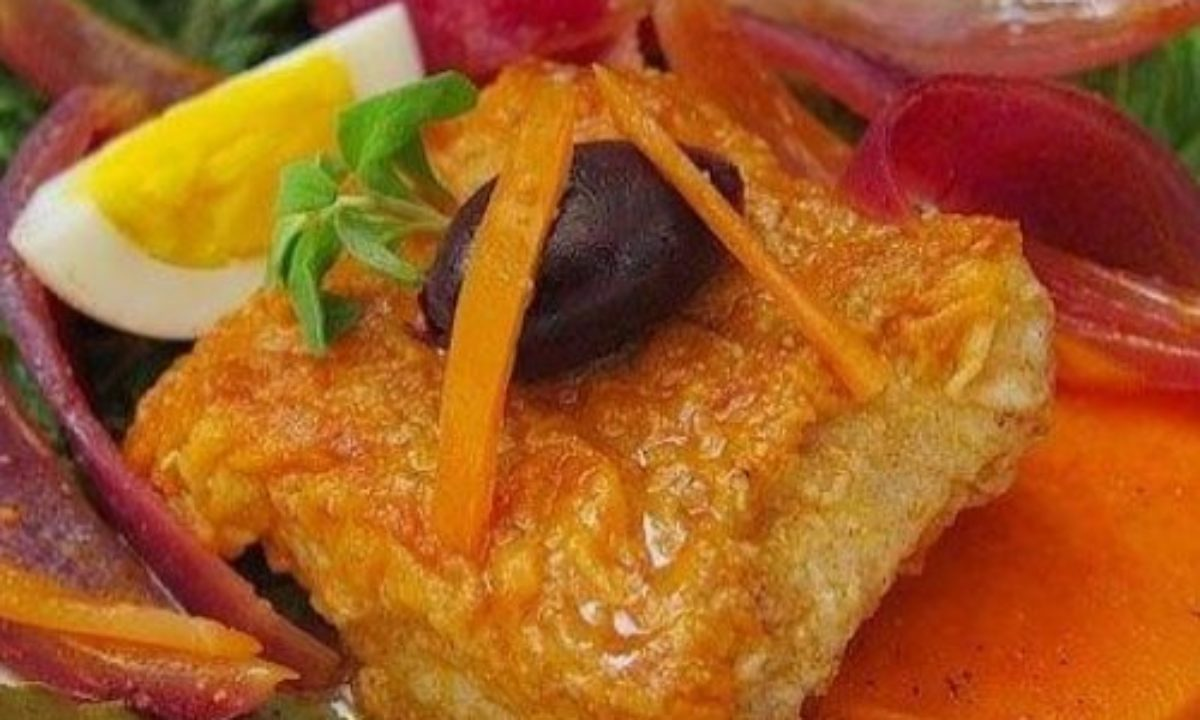 Escabeche De Pescado Receta Facil Y Deliciosa
