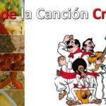 Día de la Canción Criolla - Menú de Comida Criolla
