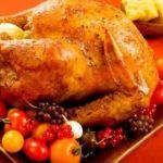 Receta de Pavo al horno de Navidad