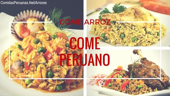 Recetas Peruanas con Arroz