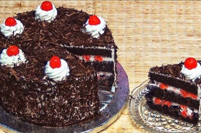 Receta de Torta Selva Negra