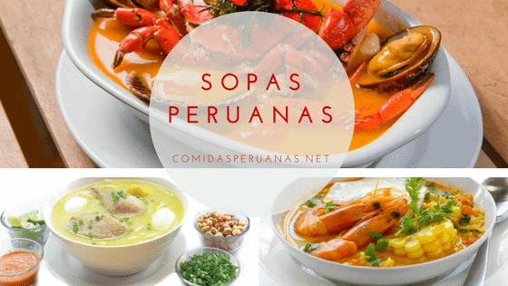 Recetas de Sopas Peruanas