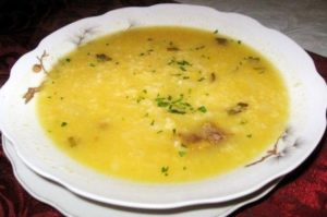 Receta Sopa de trigo