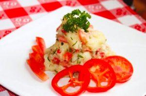 Receta de ensalada Escribano Arequipeño