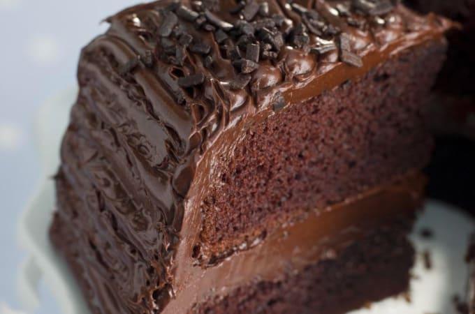 Receta de Keke de chocolate