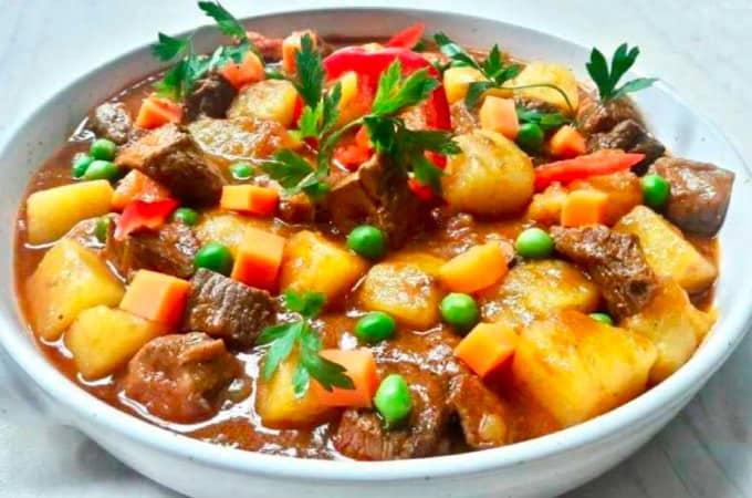 Receta de Picante de carne peruano