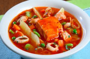 Receta de Cazuela de pescado