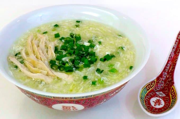 Receta de Sopa Fuchifu chifa