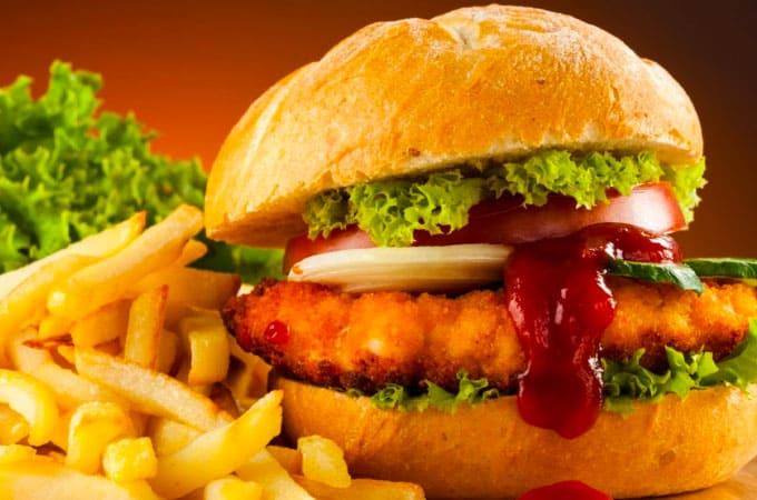 Receta de Hamburguesa de pollo