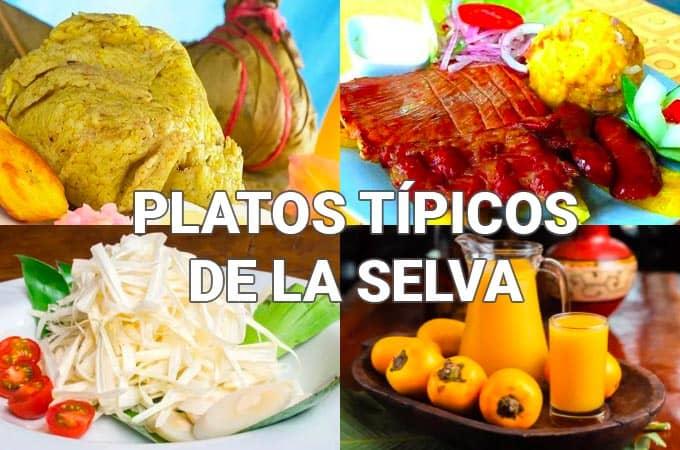 Receta de Platos típicos de la selva peruana