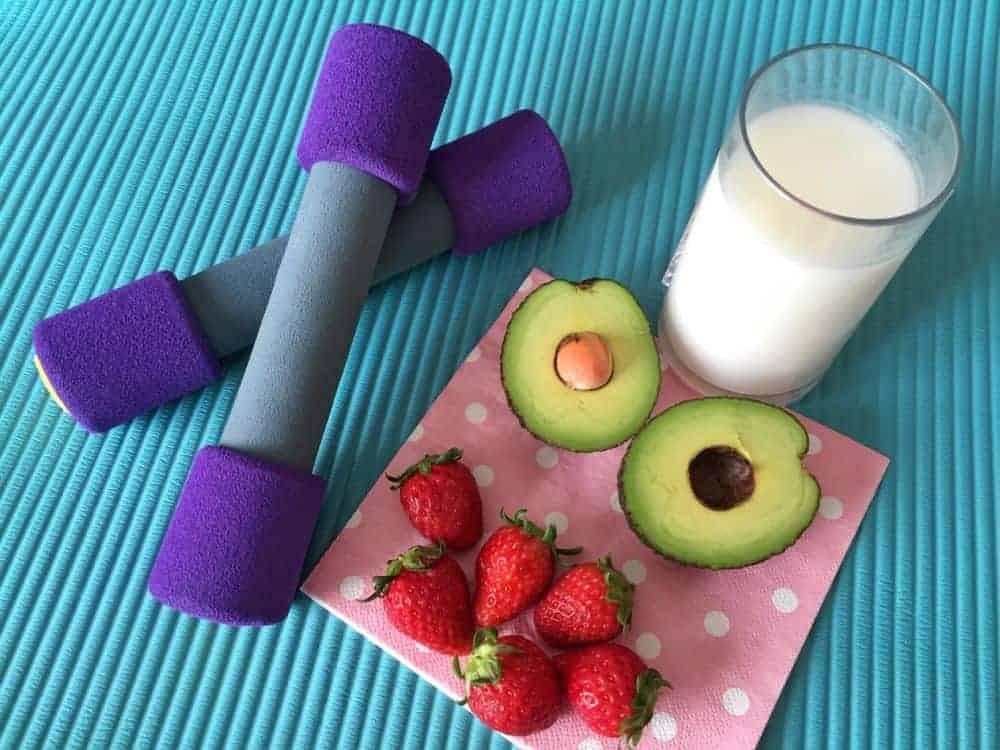 Alimentos nutritivos y ejercicios para mantenerte en forma